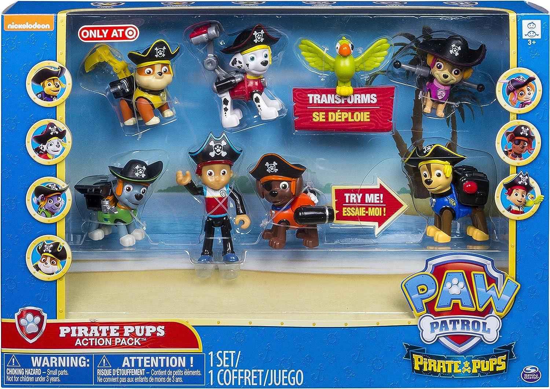 PAW PATROL Pirate Pups Action Pack Exclusivo: Amazon.es: Juguetes y juegos