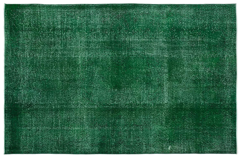 Bespoky ビンテージ 手織 ラグ 緑 大きいサイズ 171 X 295 Cm   B07HKYS1V7