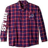 Klew Apparel NFL Football 2015 Wordmark Basic Flannel Long Sleeve Shirt - Pick Team