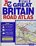 Great Britain Road Atlas 2019 (A4 Spiral)