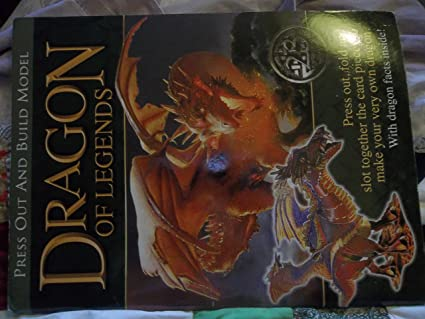 Amazon com: Dragon of Legends Press Out and Build Model