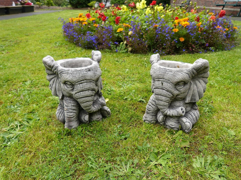 Decorazione Vasi Da Giardino : Coppia di decorazione vasi da giardino in pietra fioriera