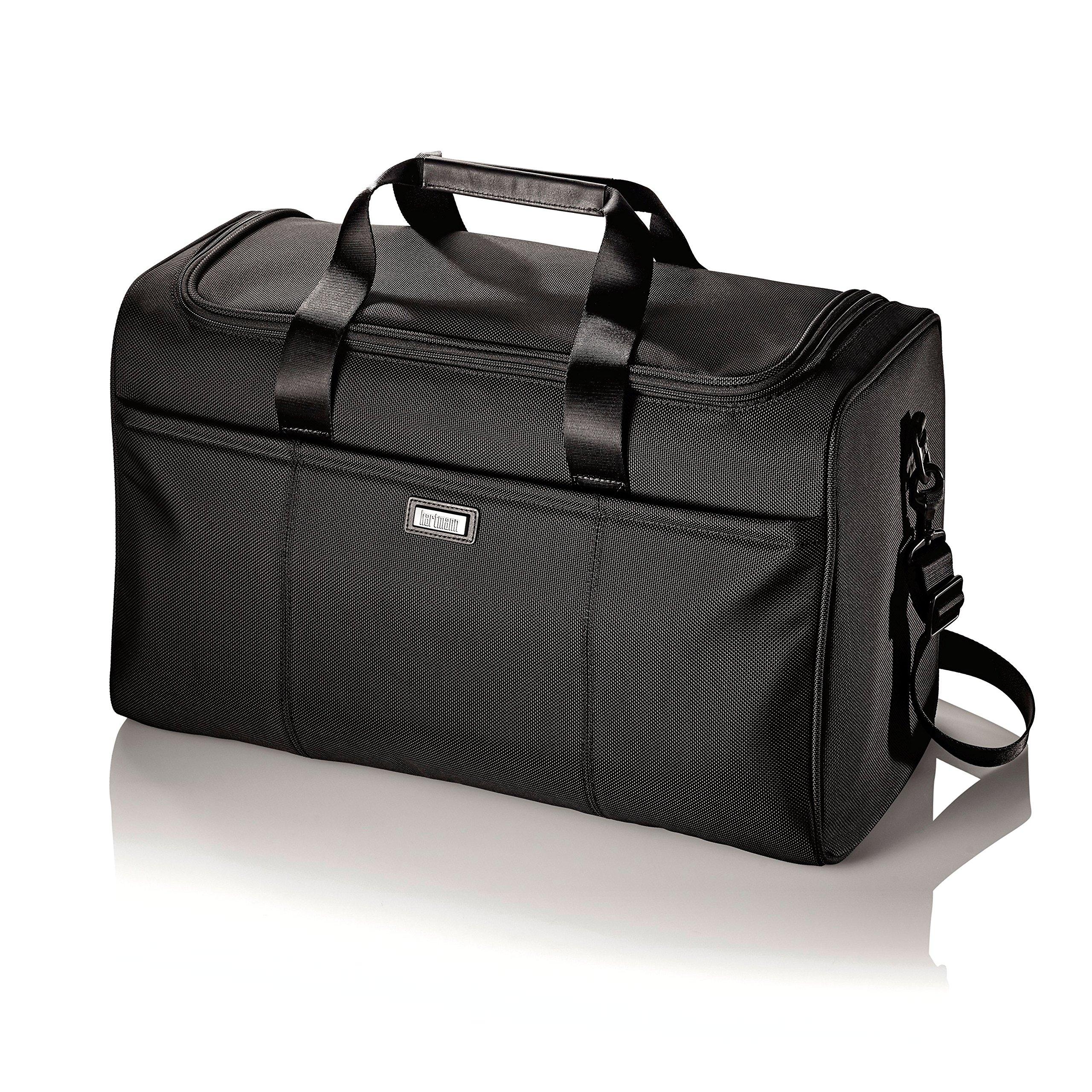Hartmann Ratio Nylon Travel Duffel Bag in Black