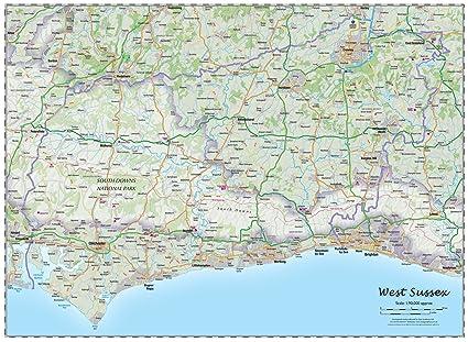 os map west sussex