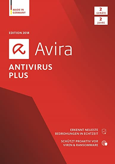 Avira Antivirus Plus Software Edition 2018 Sicheres