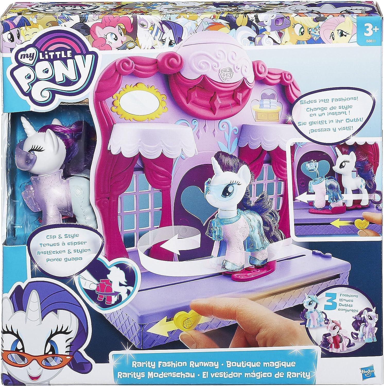 My Little Pony Friendship is Magic Rarity Fashion Runway Playset   Amazon.co.uk  Toys   Games b25a99b83