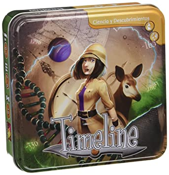 Unique Timeline Asmodee Jeu Dambiance Time03fr Taille Classic XiTkOPZu