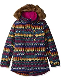 Burton Girls' Aubrey Parka Jacket, Bohemia/Spellbound, Large