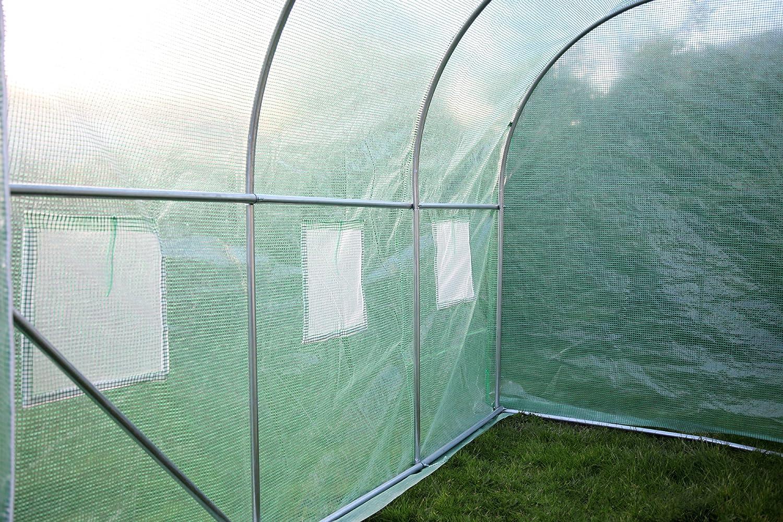 Edelstahl extra stark Tunelle Polytunnel Gew/ächshaus V/ögel Insekten Kenley 3 x 2 m 25 mm