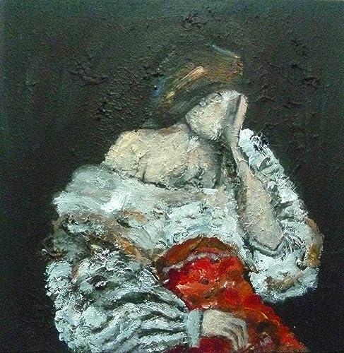 Peinture Sur Toile Canvas Art Tableau Portrait De Femme