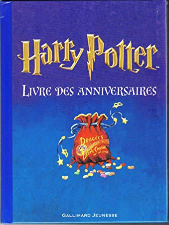 Amazon.com: Francés Harry Potter Livres des anniversaires ...