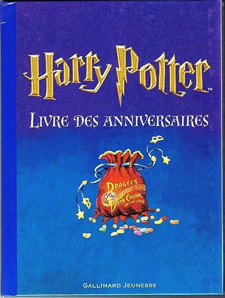 Amazon Com French Harry Potter Livres Des Anniversaires