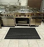 Comfort Flow Black Rubber Commercial Kitchen