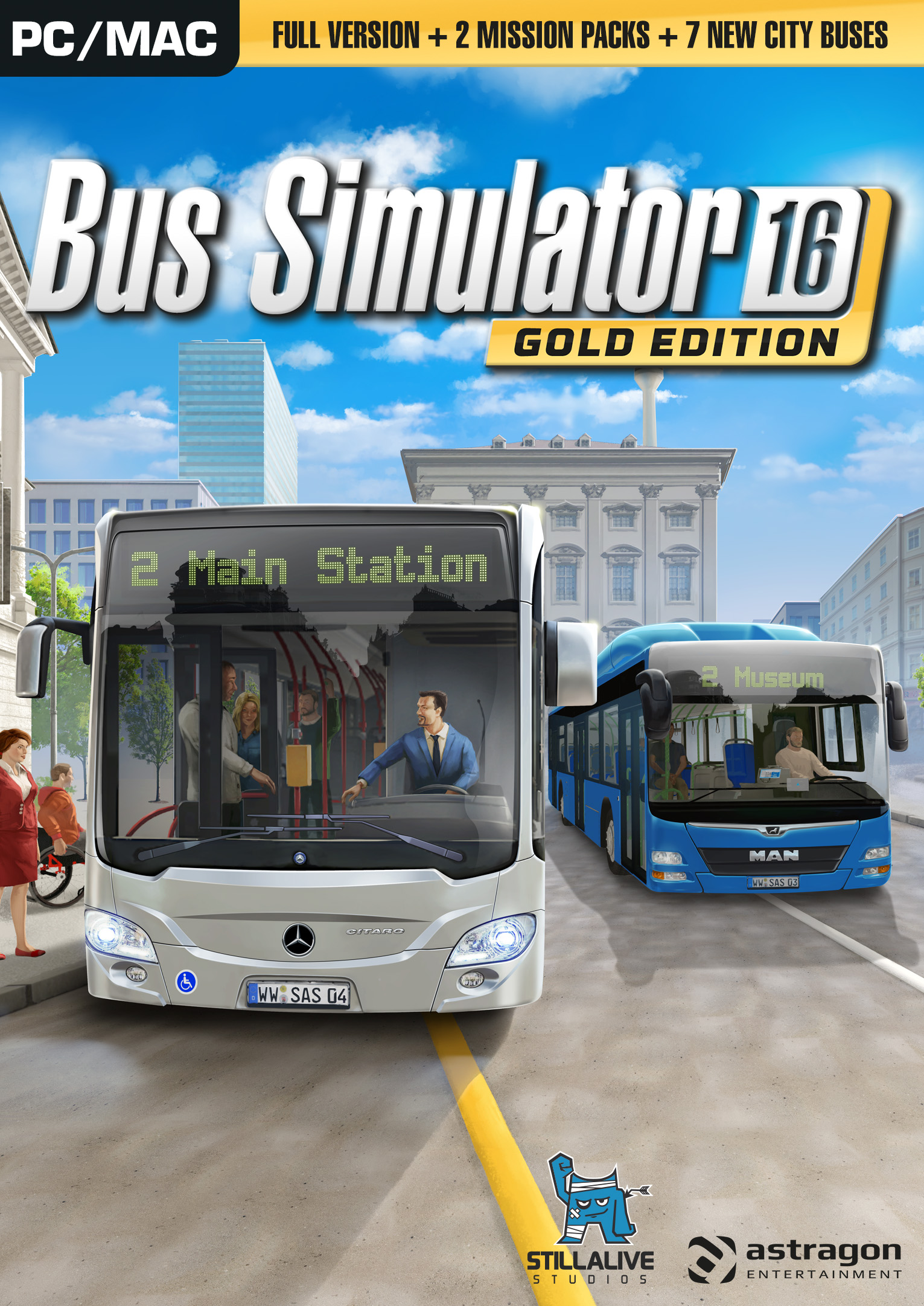 Bus Simulator 16: Gold Edition [Online Game Code] by astragon Entertainment GmbH