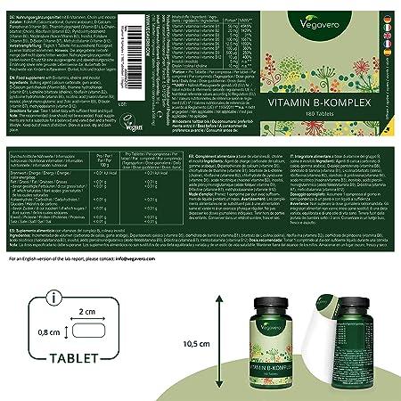 Complejo Vitamina B Vegavero® | AHORA SIN ADITIVOS ARTIFICIALES ...
