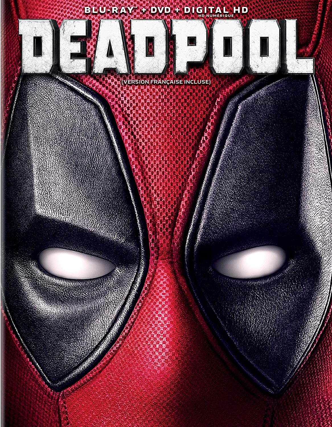 Deadpool [Blu-ray + Digital Copy] (Bilingual) Ryan Reynolds Morena Baccarin Karan Soni Ed Skrein