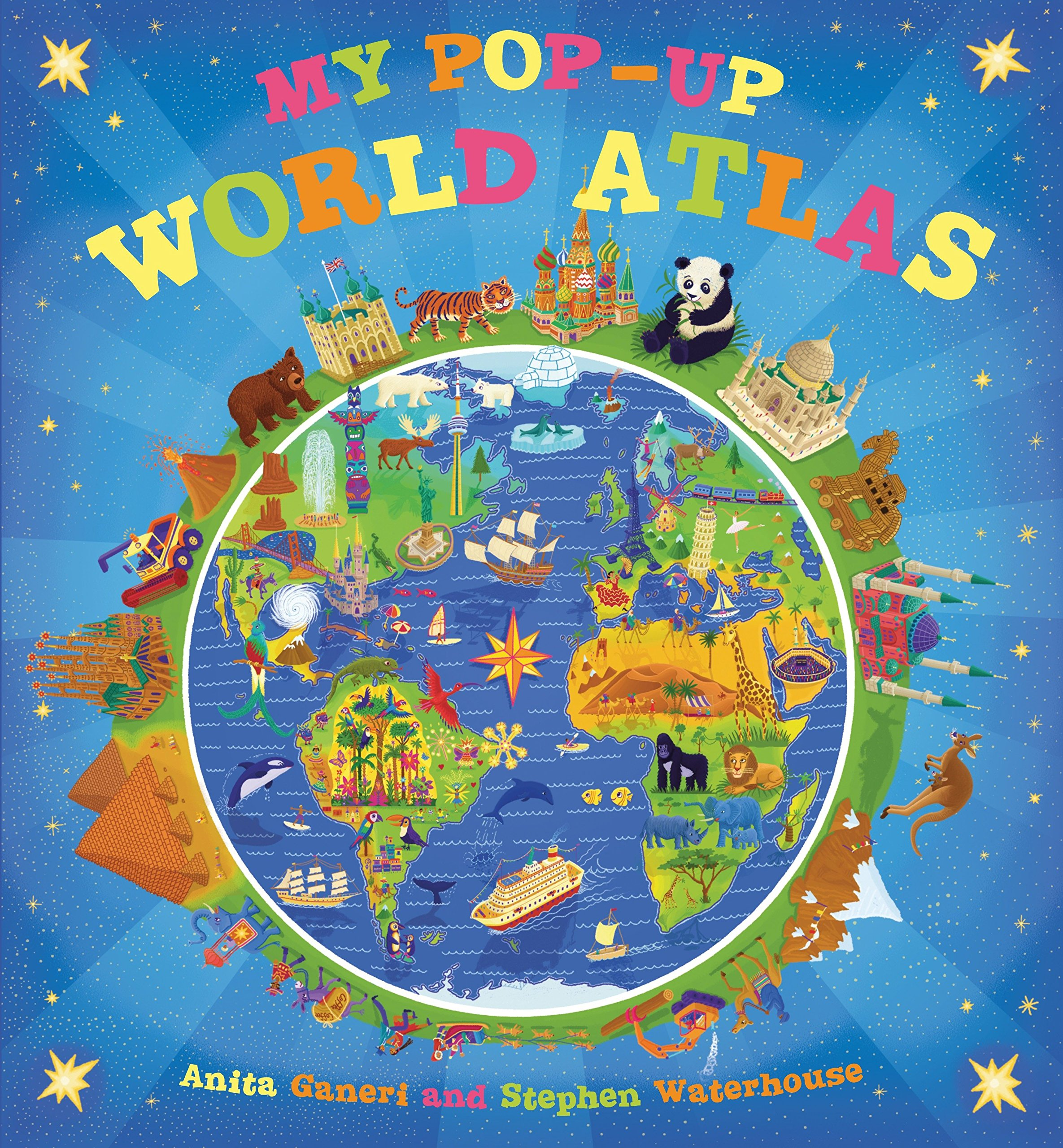 Read Online My Pop-up World Atlas pdf