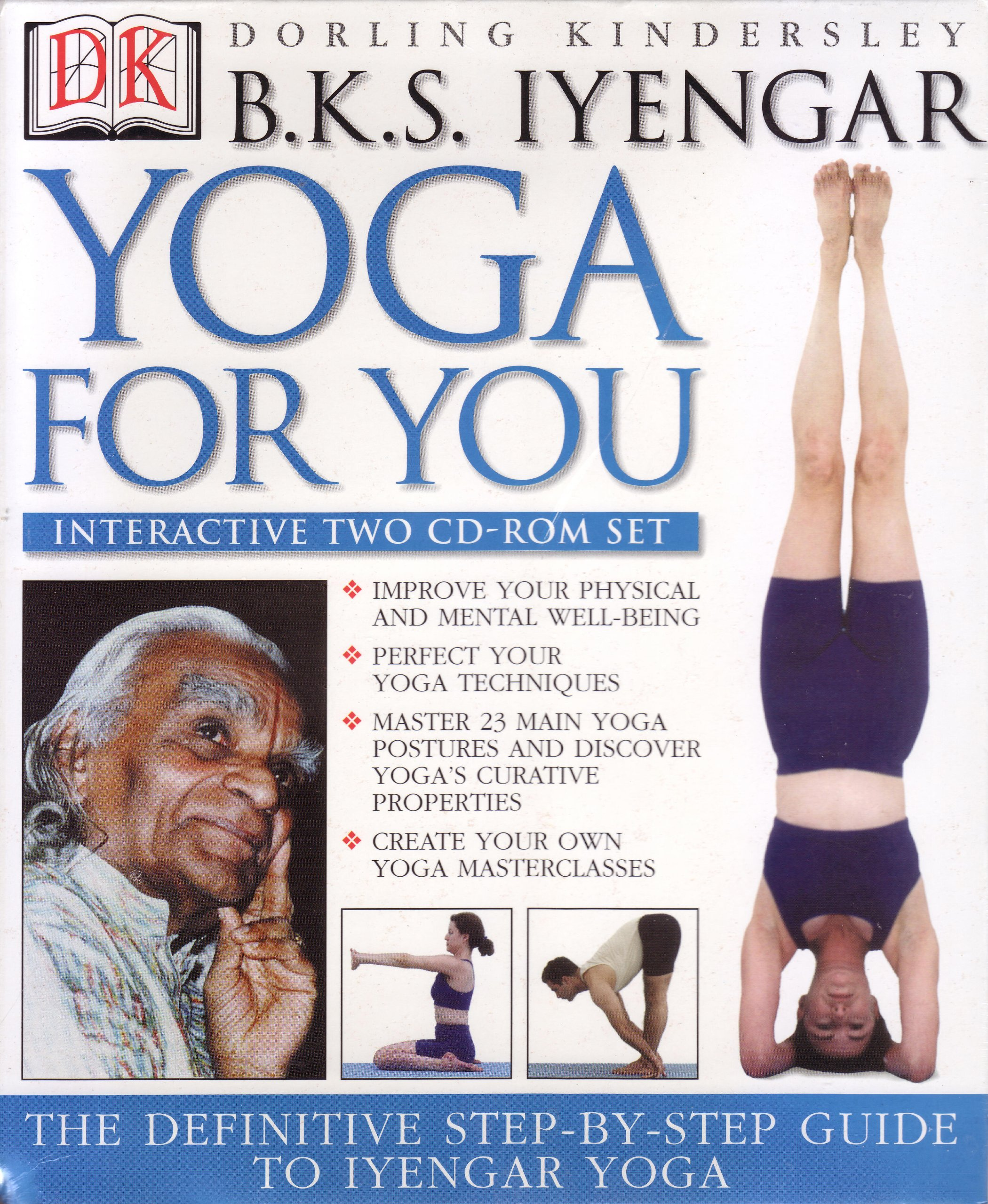 Yoga For You (Interactive Two CD-Rom set): B. K. S. Iyengar ...