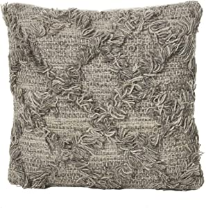 Christopher Knight Home Jucar Wool Pillow, Natural Grey