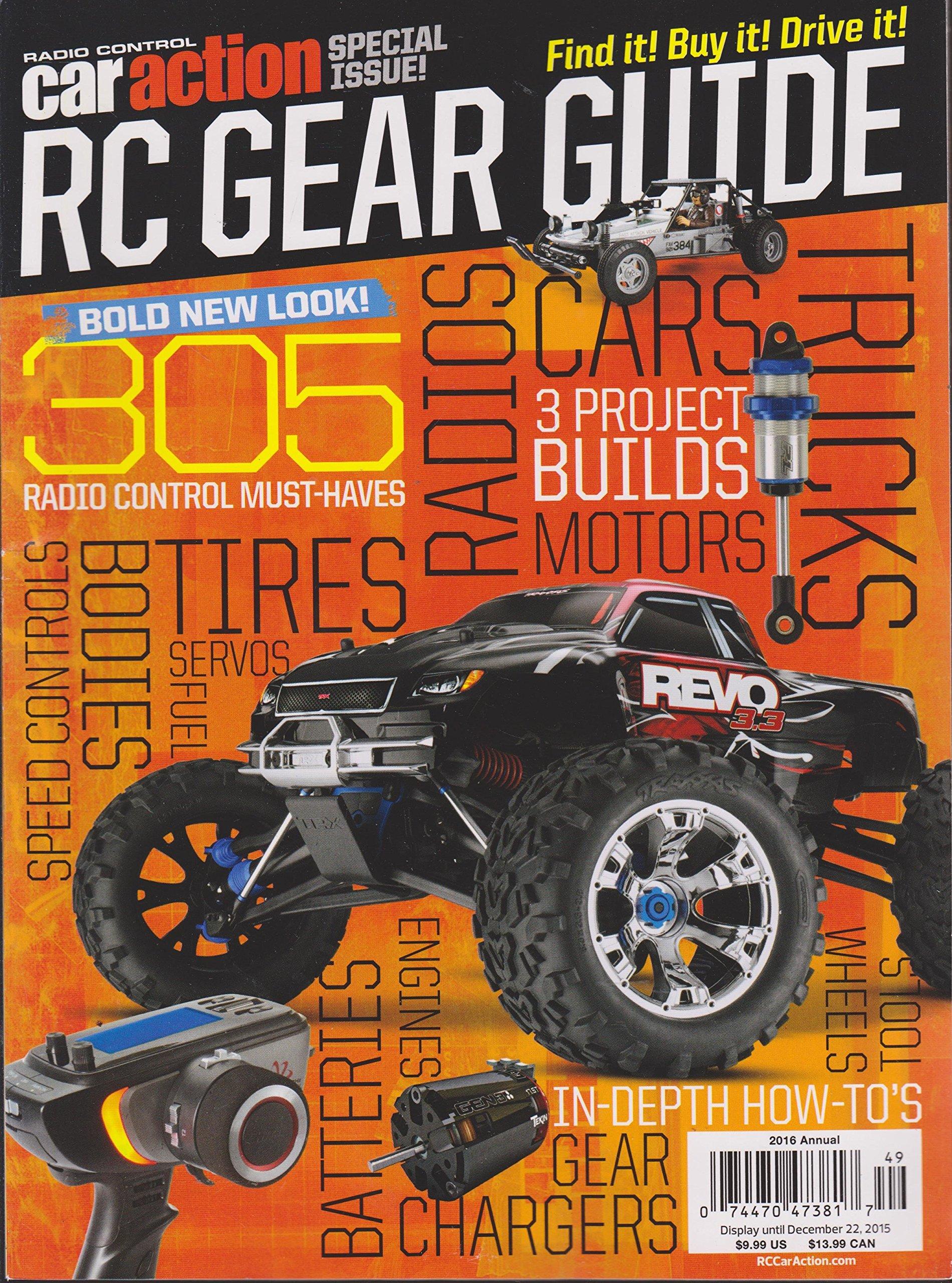 Download Radio Control Car Action RC Gear Guide 2016 Annual ebook