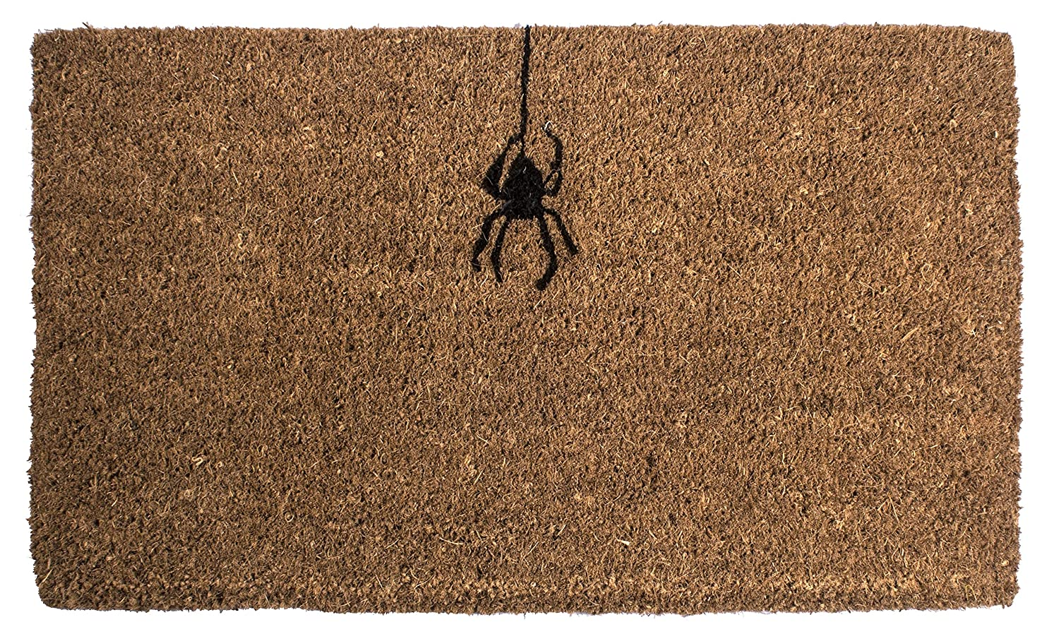 Amazon.com : Entryways Spider, Hand-Stenciled, All-Natural Coconut ...