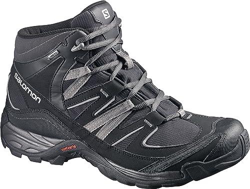 Salomon Mudstone botas de caminata al aire libre calzado botas de marcha negro, Negro,