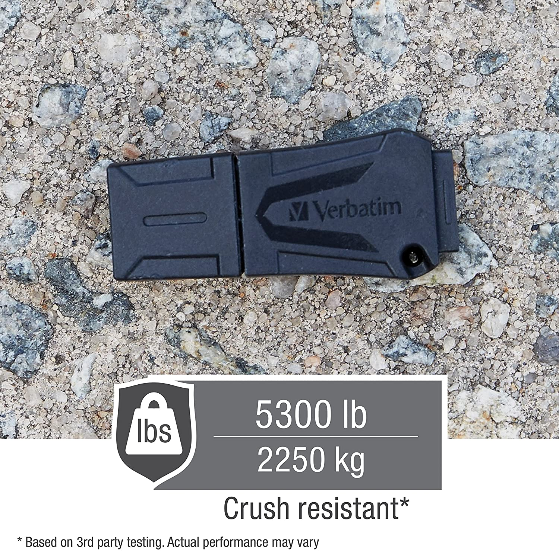 Verbatim 16gb Toughmax Usb Flash Drive Black Computer Zubehör
