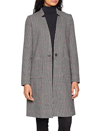 Only Onlhelen Check Wool Coat CC Otw, Abrigo para Mujer: Amazon.es: Ropa y accesorios