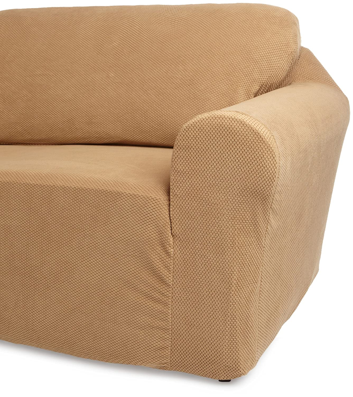 Amazon Classic SlipCovers 78 96 Inch Sofa Cover Cappuccino