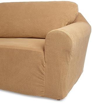 Amazoncom Classic SlipCovers 7896Inch Sofa Cover Cappuccino