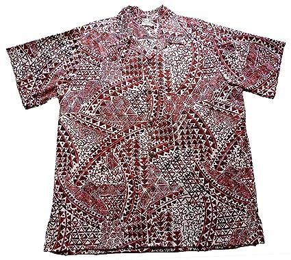 8967d8d0 Go Barefoot Mens Hawaiian Tats Big & Tall Shirt at Amazon Men's ...