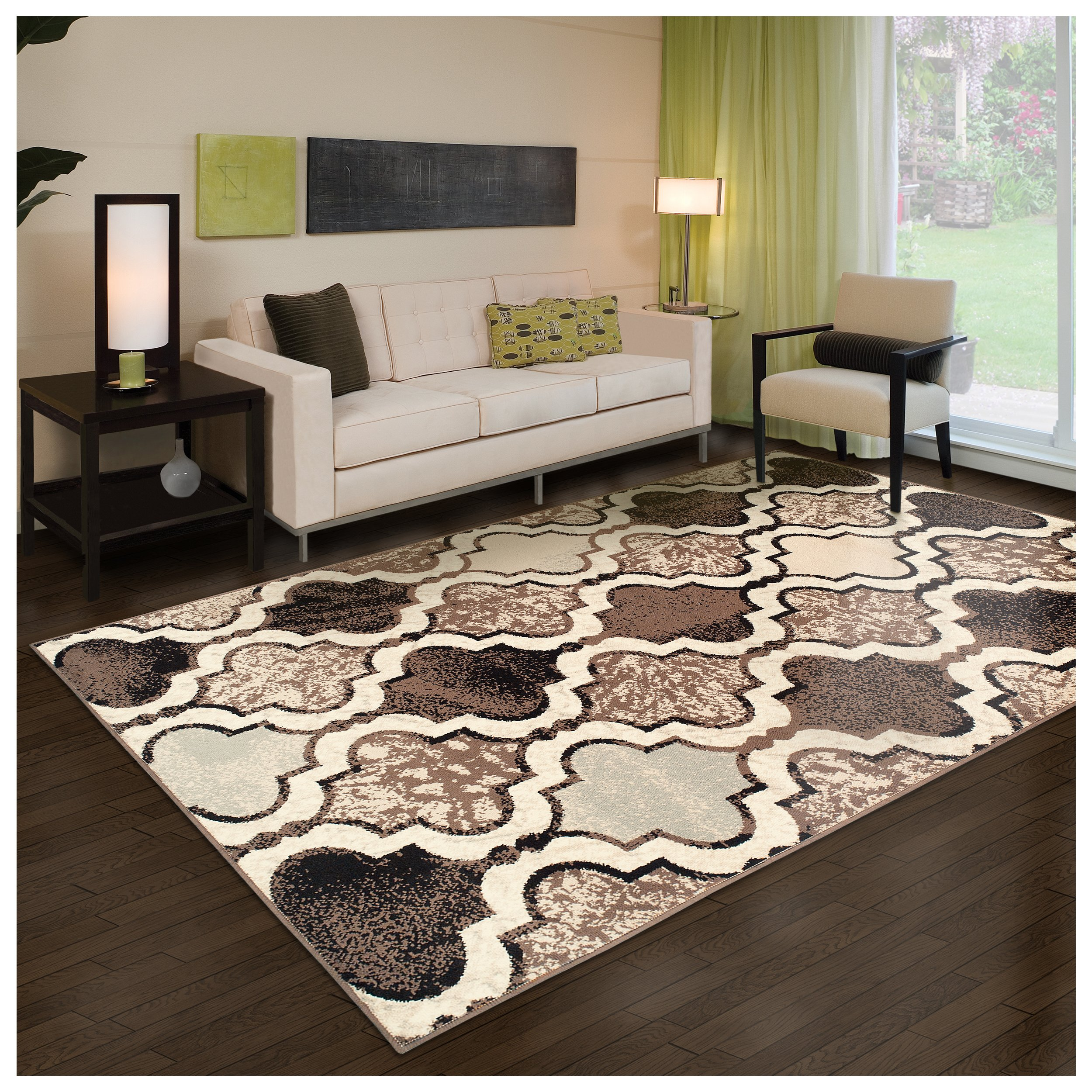 Superior Modern Viking Collection Area Rug 8mm Pile