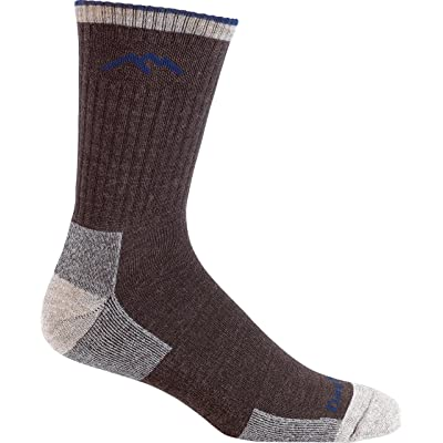.com : Darn Tough Men's Merino Wool Micro Crew Sock Cushion, Chocolate, Medium : Clothing