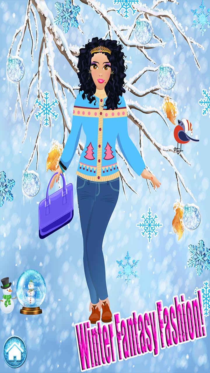 Ice Princess Winter Salon - Dress Up Snow Girl: Amazon.com