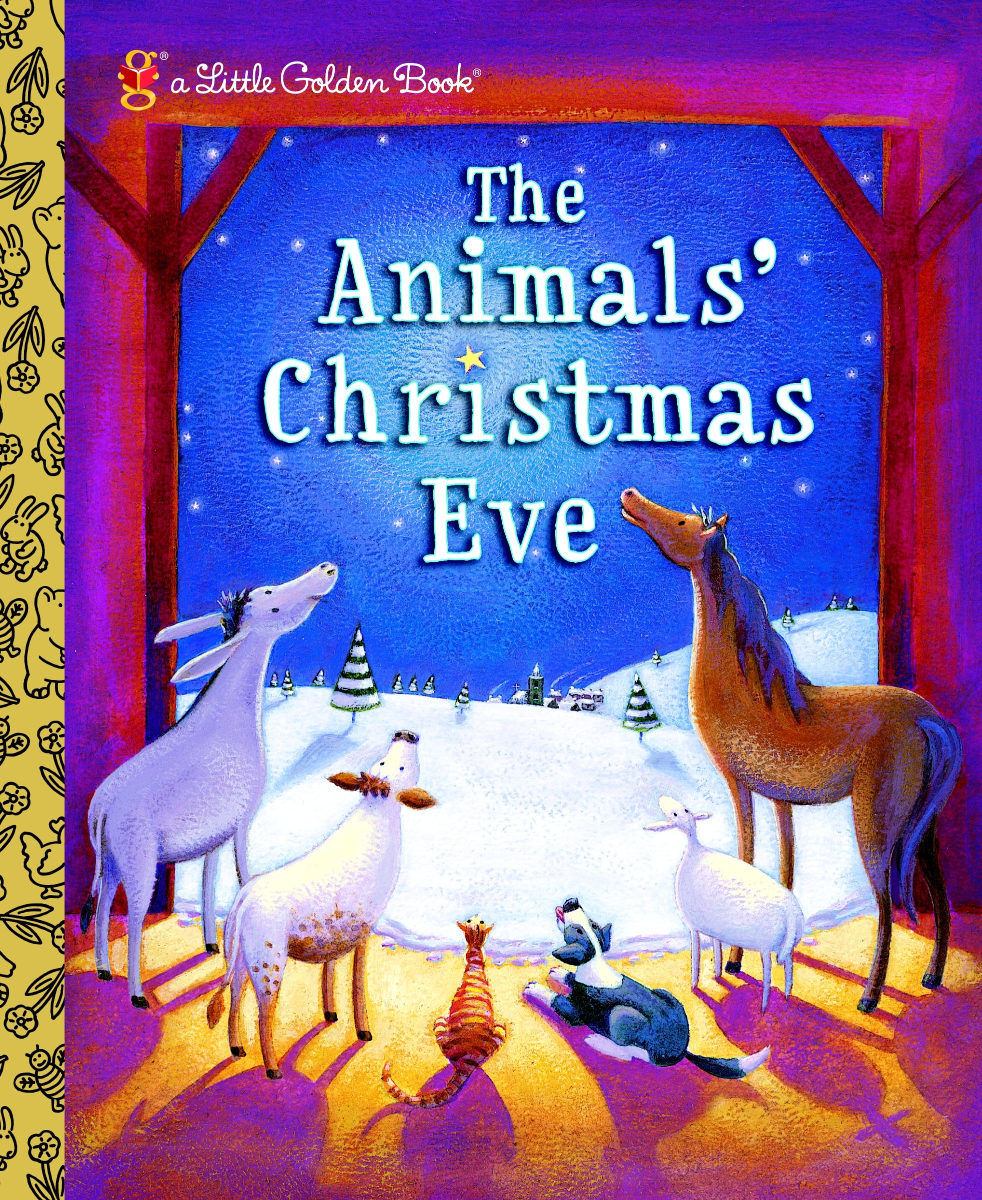 Image for The Animals' Christmas Eve (Little Golden Book)