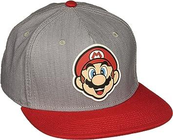 Super Mario Bros. Mario Ruber Sonic Weld Snapback Gorra De Béisbol ...