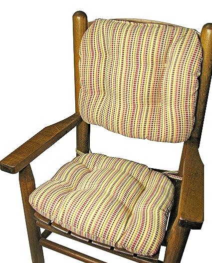 Child Rocking Chair Cushions   Indoor / Outdoor: Fade Resistant, Mildew  Resistant   Latex