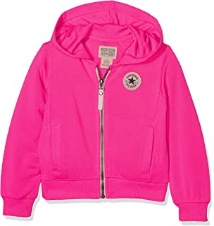 a8071a44222e Converse Girls Junior Girls Chuck Taylor Signature Hoody in Pink - 8 ...
