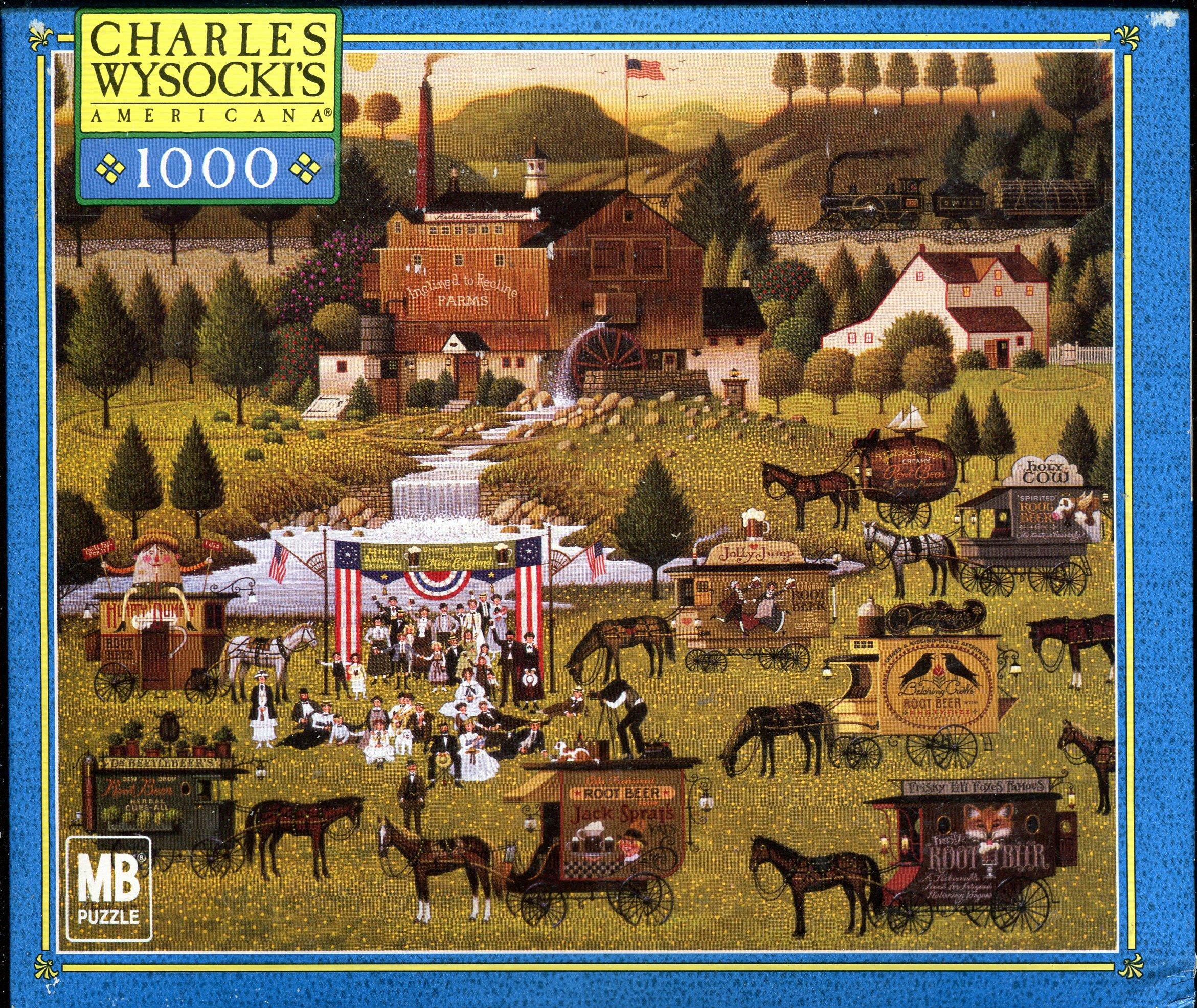 Charles Wysocki's American 1,000 Piece Jigsaw Puzzle ~ Rally At Dandelion Mill 04679-12 pdf