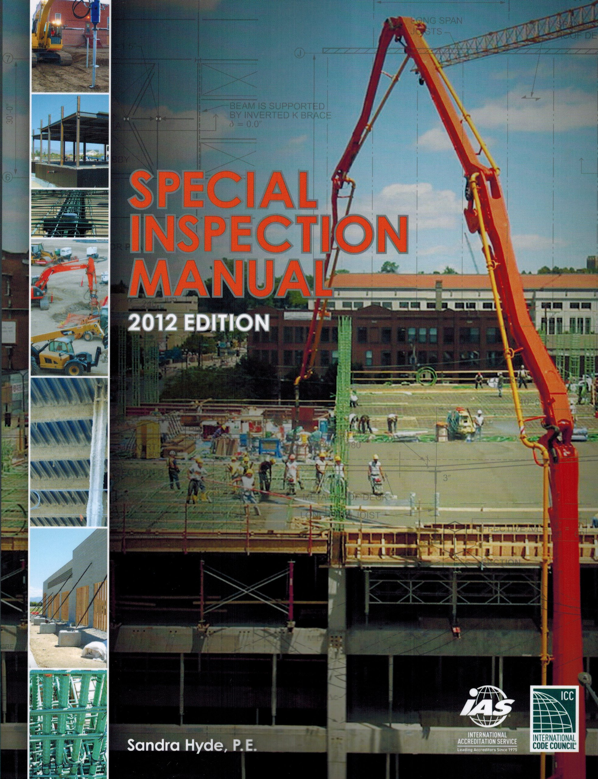 Special inspection manual 2012 edition 9781609835224 amazon special inspection manual 2012 edition 9781609835224 amazon books fandeluxe Gallery