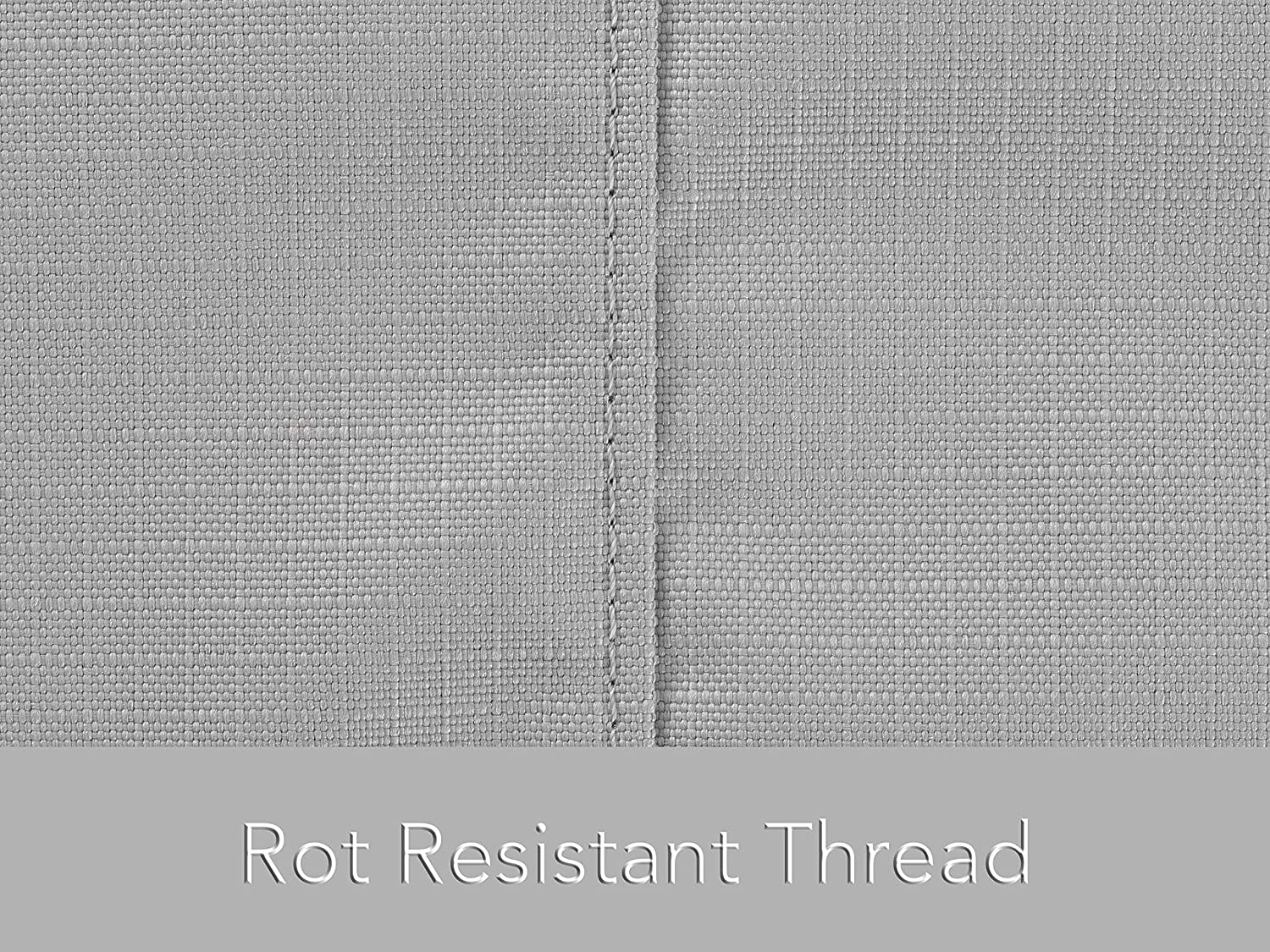 30W x 82D x 38H Ripstop Grey Built 600D Fade Resistant Poly Chaise Lounge Cover Weather Resistant Ultima Ripstop in Covered Mesh Vent Rot Resistant Thread