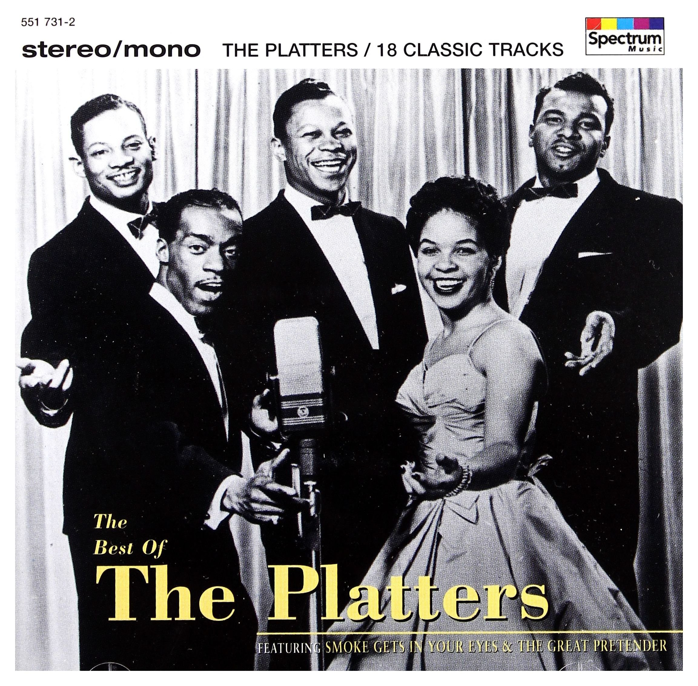 CD : The Platters - Best Of (CD)