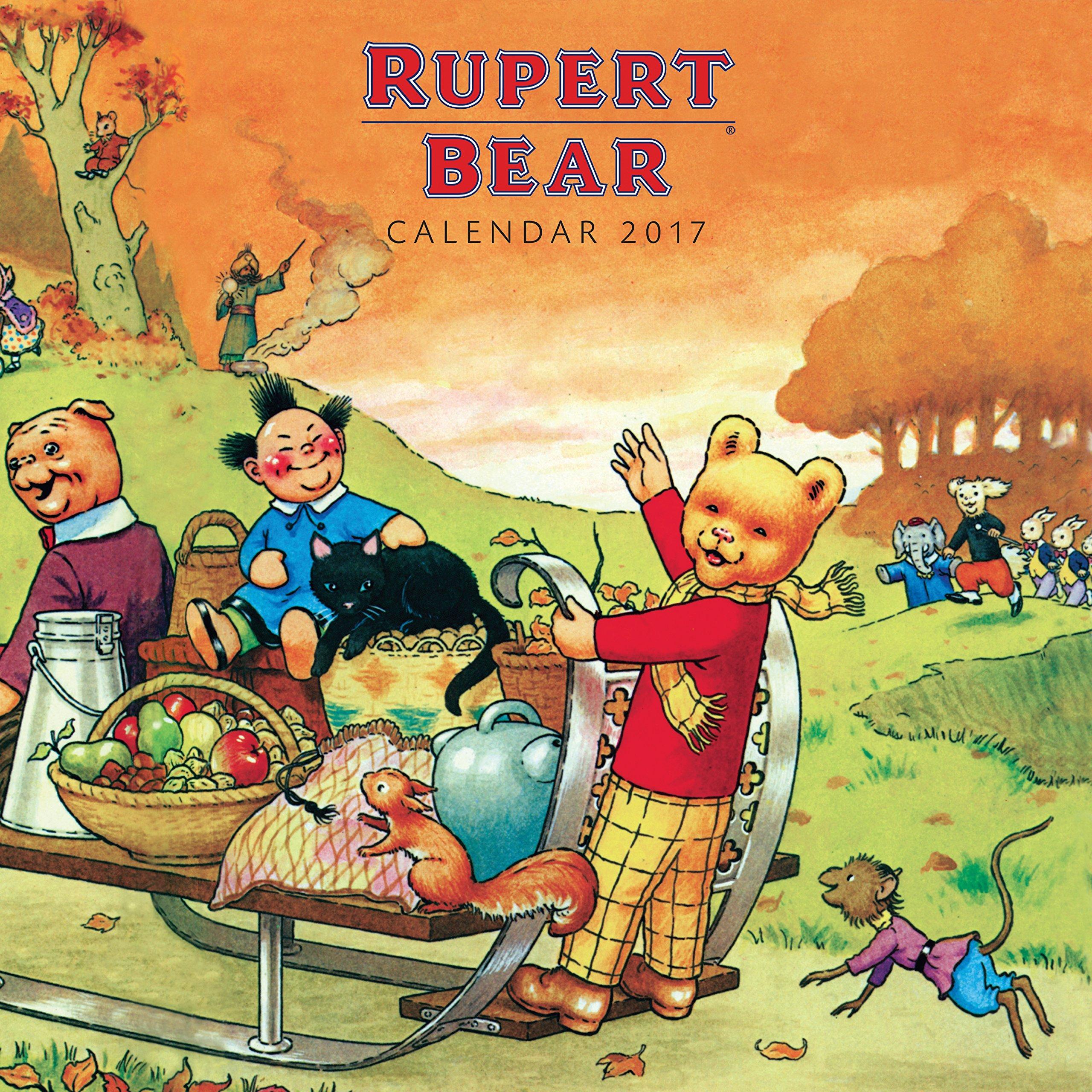 Rupert Bear Wall Calendar 2018 (Art Calendar): Amazon.co.uk: Flame ...