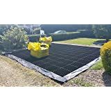 GARDEN SHED BASE GRID 2M X 1.5M SUITS 6X5 - 6X4 SHEDS & 7X5 FEET SHEDS = FULL ECO KIT + HEAVY DUTY MEMBRANE - PLASTIC ECO PAVING SLAB BASES & DRIVEWAY GRIDS