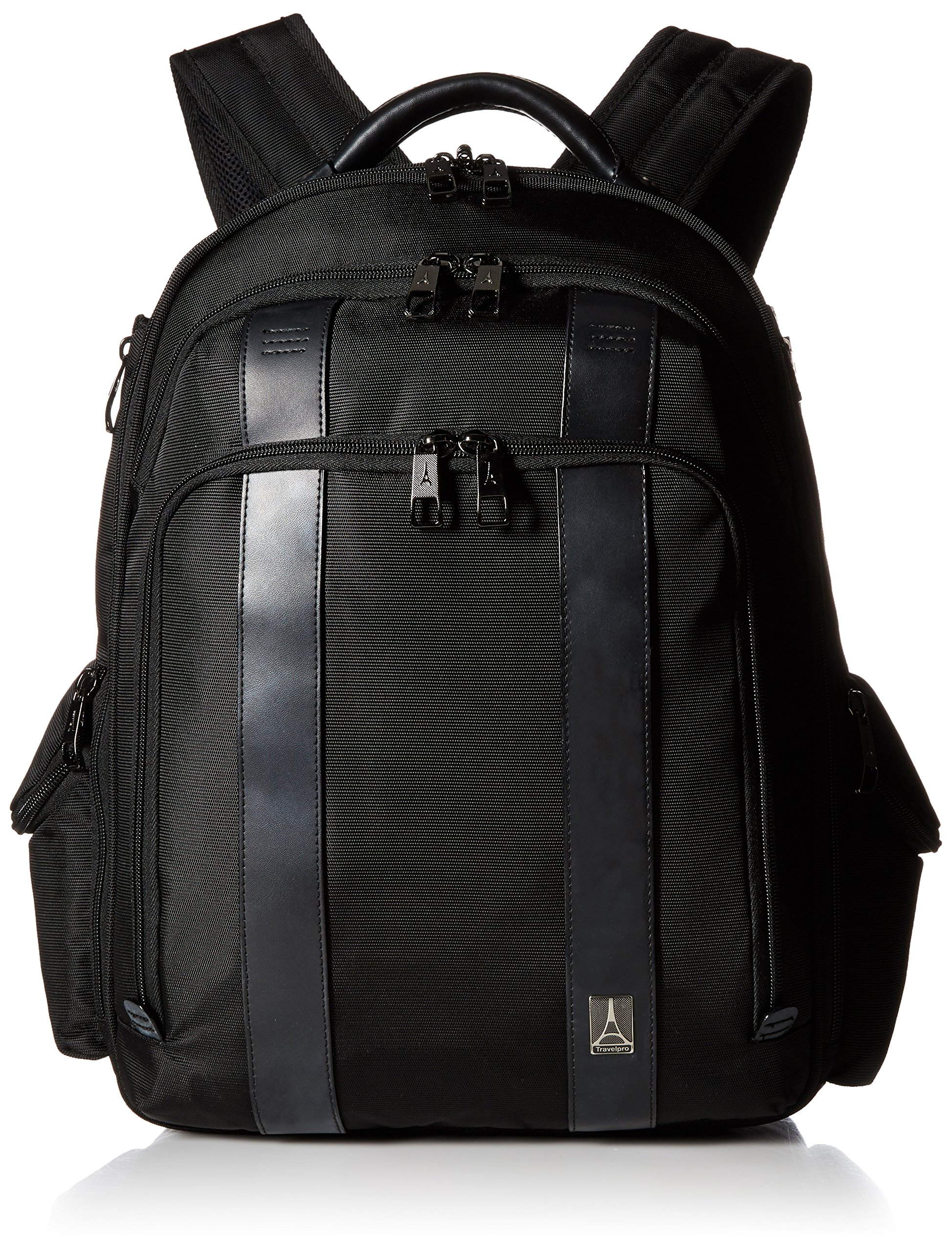 Travelpro Executive Choice Crew Checkpoint Friendly 17 Inch Computer Backpack, Black, One Size by Travelpro