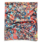 Mission HydroActive Fitness Multi-Cool Neck Gaiter and Headband, Graffitti Pattern High Vis Coral, One Size