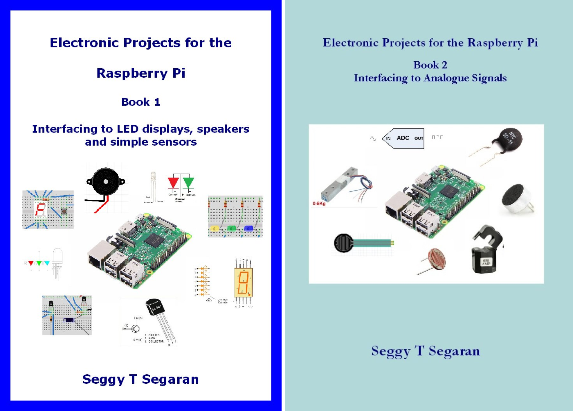 Electronic Projects for the Raspberry Pi (2 Book Series)