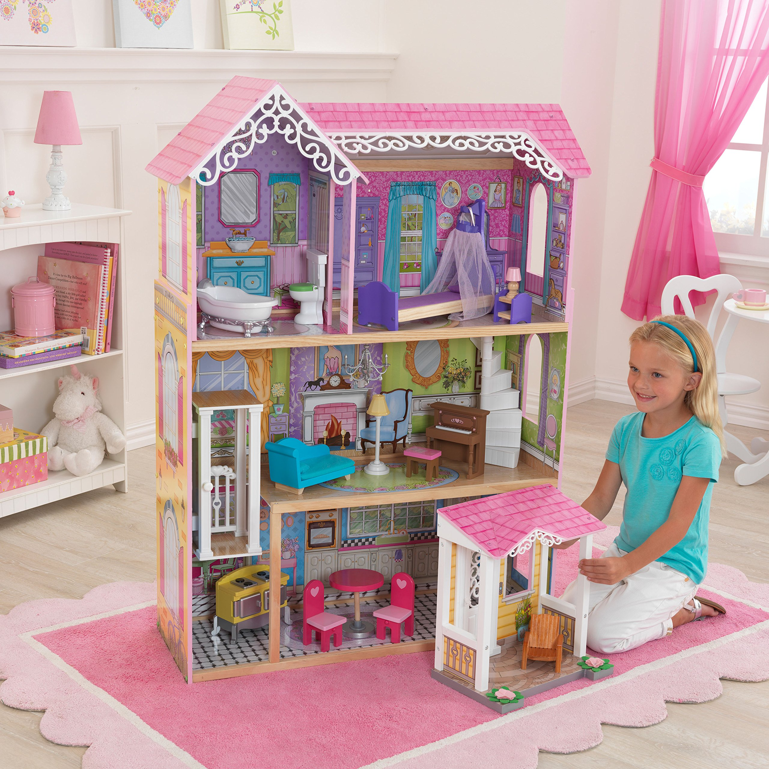 KidKraft Sweet & Pretty Dollhouse Toy by KidKraft (Image #3)