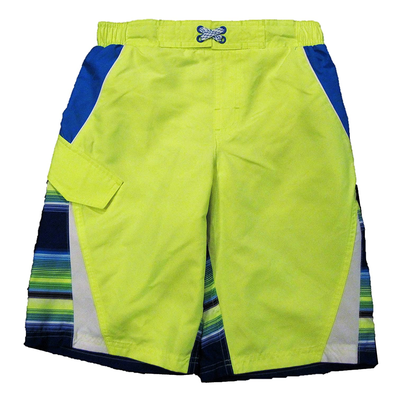7738946621 Amazon.com: Ocean Pacific Boys Acid Yellow Color Splice Swim Short -  X-Small: Clothing