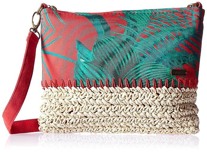 Amazon.com: Roxy Oriental Cuba Cruz Cuerpo Bolso, Rojo ...